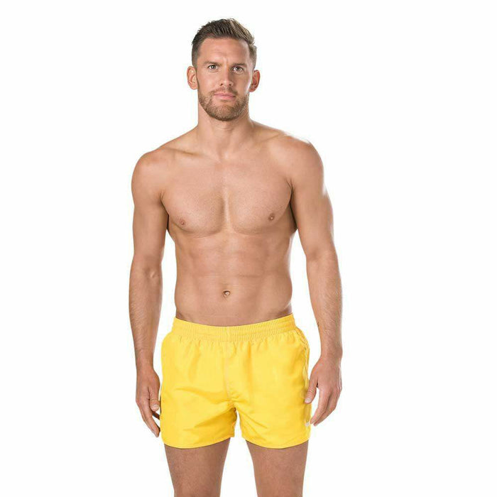 Fitted Leisure Watershort Geel
