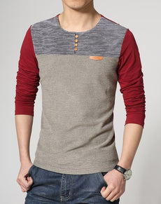 Mens T-Shirt Korean Style | Grealz.com - Enjoy Free Shipping