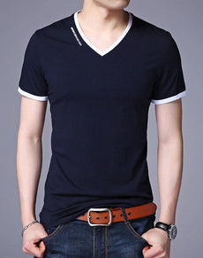 Slim Fit Sexy Short Sleeve Tee | Grealz.com - Enjoy Free Shipping