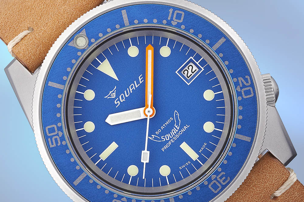 Squale 50 Atmos - original diver's watch with rich history