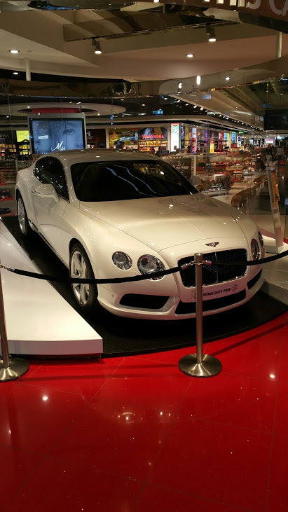 Bentley, Audi, Porsche all these cars you can win on Dubai airport