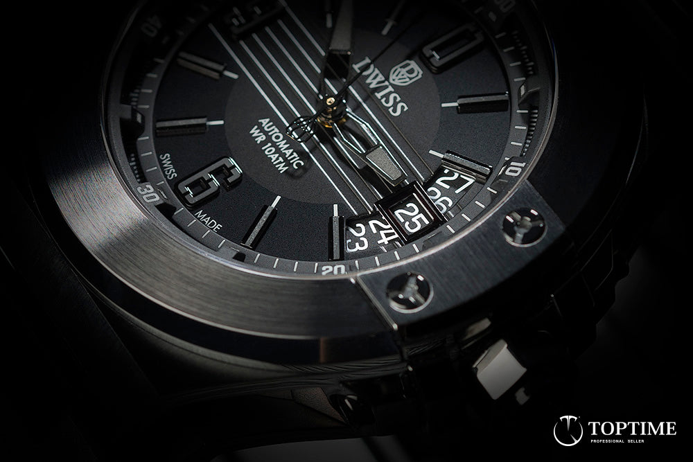Dwiss Emme - all black - dial