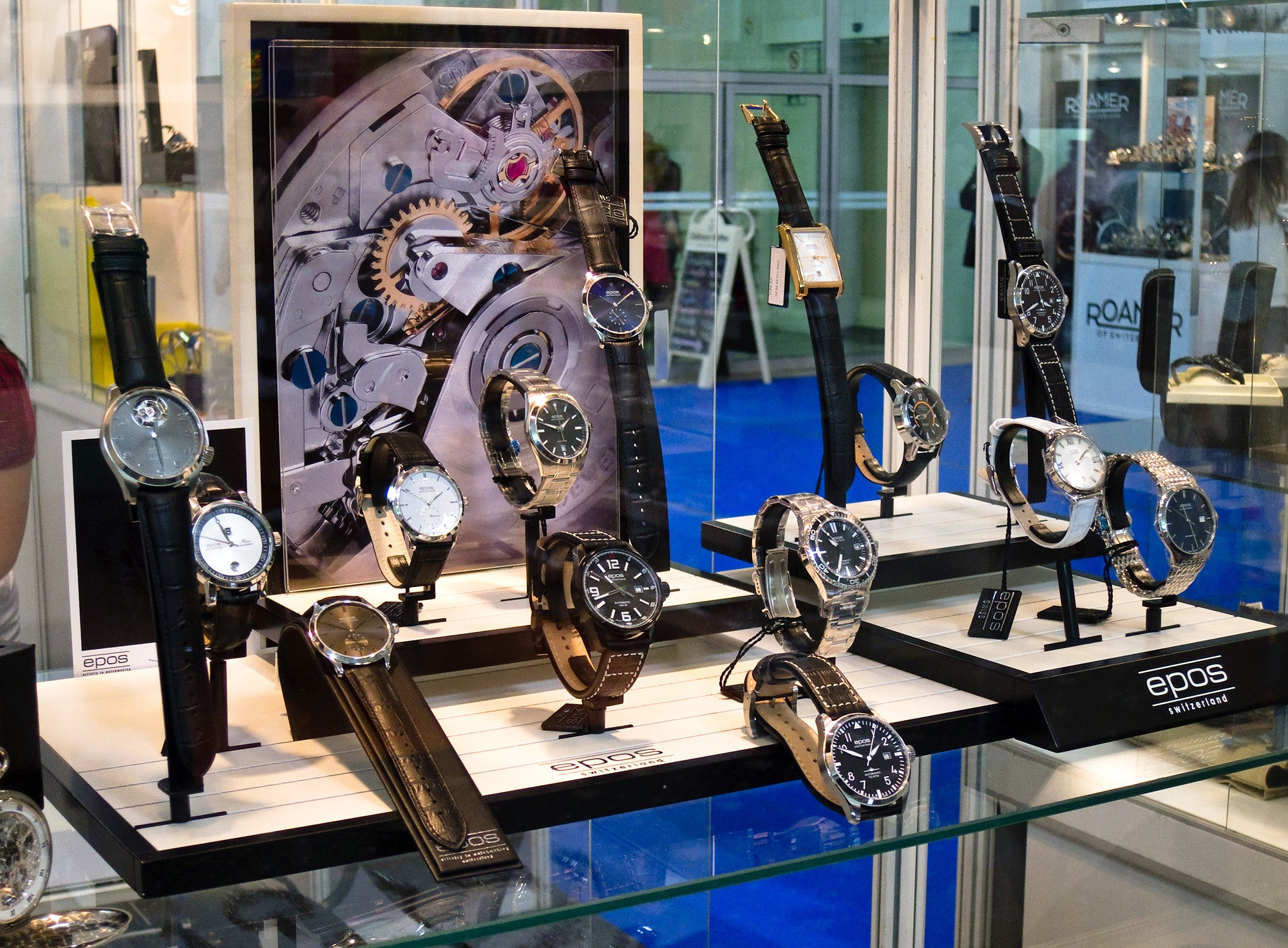 Epos display from Slovak watchfair