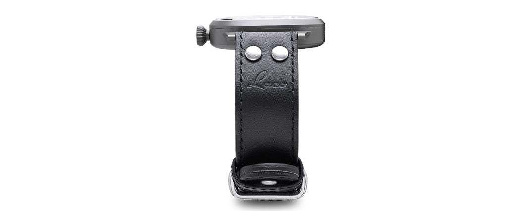 Laco pilot watch side view