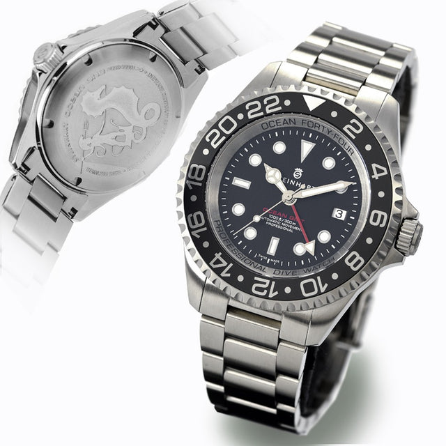 STEINHART OCEAN FORTY-FOUR GMT BLACK