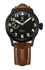 Biatec Corsair 02 - automatic pilot watch - light brown leather strap