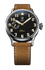 Biatec Corsair 03F - automatic pilot watch - light brown vintage leather strap
