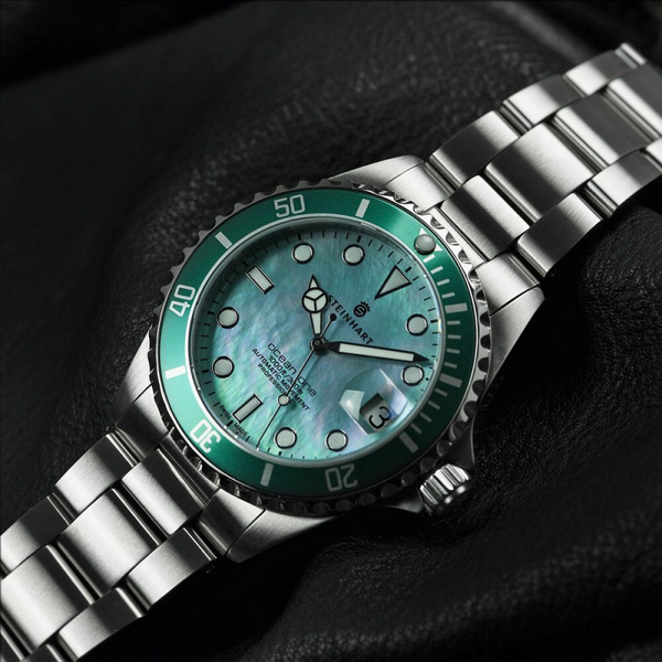 Steinhart OCEAN One 39 green MOP