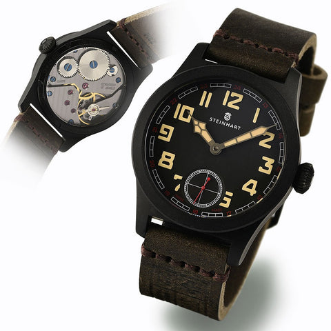 STEINHART MILITARY 42 handwinding black