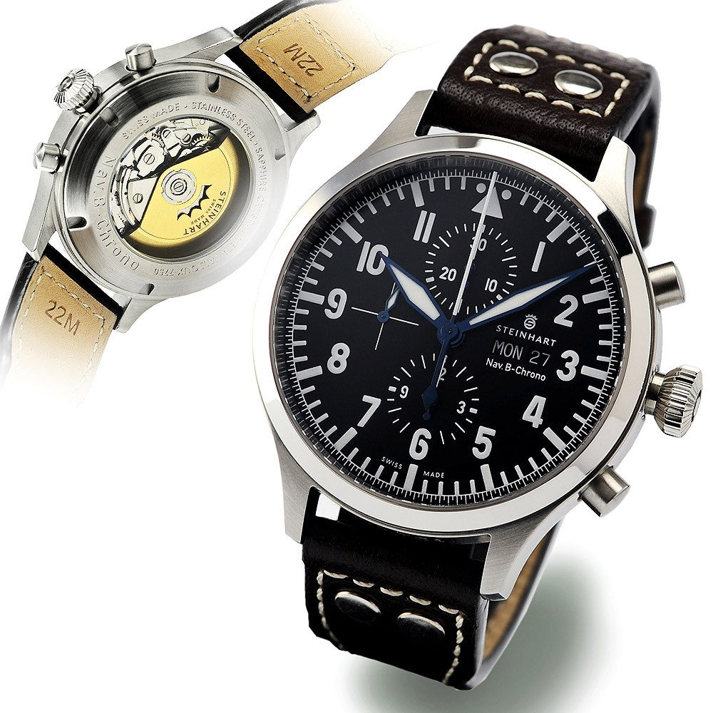 be2eebf3a STEINHART Nav B-Chrono 47 mm