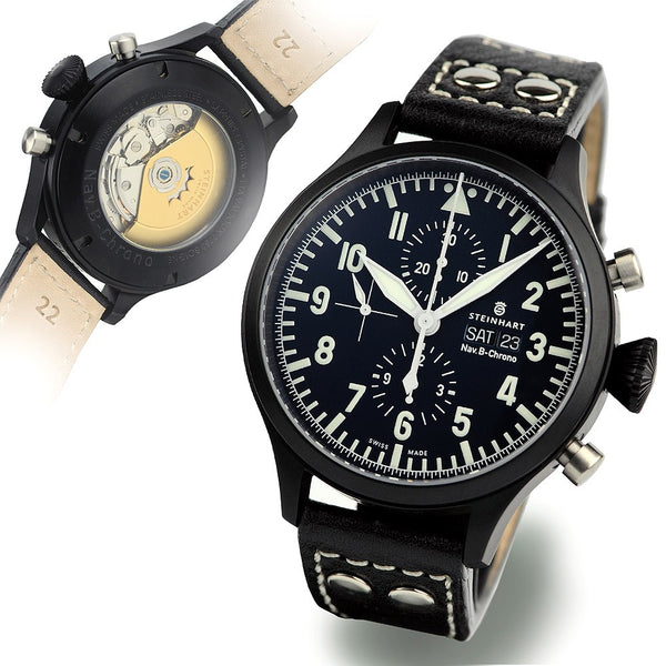 STEINHART Nav B-Chrono 47 mm black