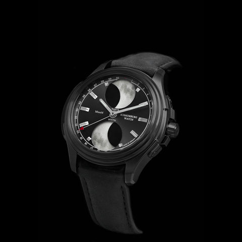 SCHAUMBURG -  URBANIC Double Moon II BLACK PVD