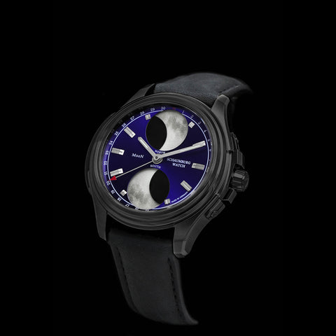 SCHAUMBURG -  URBANIC Double Moon I BLACK PVD