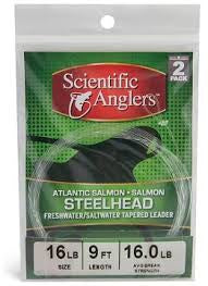 Scientific Anglers Salmon/Steelhead Tapered Leader 2 pack