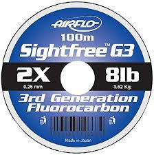 Airflo Sightfree G3 Fluorocarbon Leader