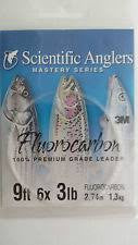 Scientific Anglers Fluorocarbon Tapered Leader