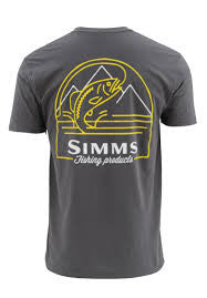 Simms Weekend Trout Short Sleeve T