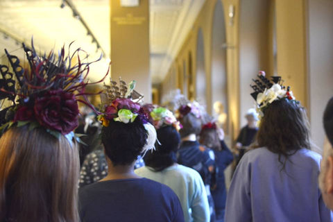 Victoria & albert millinery workshop, hat making, V&A