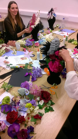 Victoria & albert museum, hat making, millinery workshop, V&A
