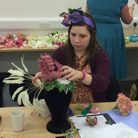 Victoria & Albert museum, V&A, millinery workshop, hat making