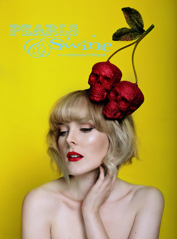 Wearable art headwear, hair accessories and headpieces