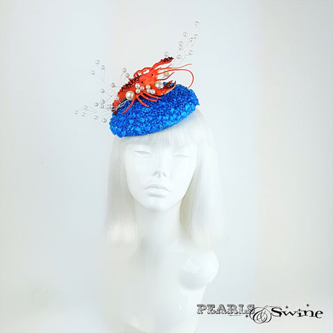 Quirky sparkling ocean hat