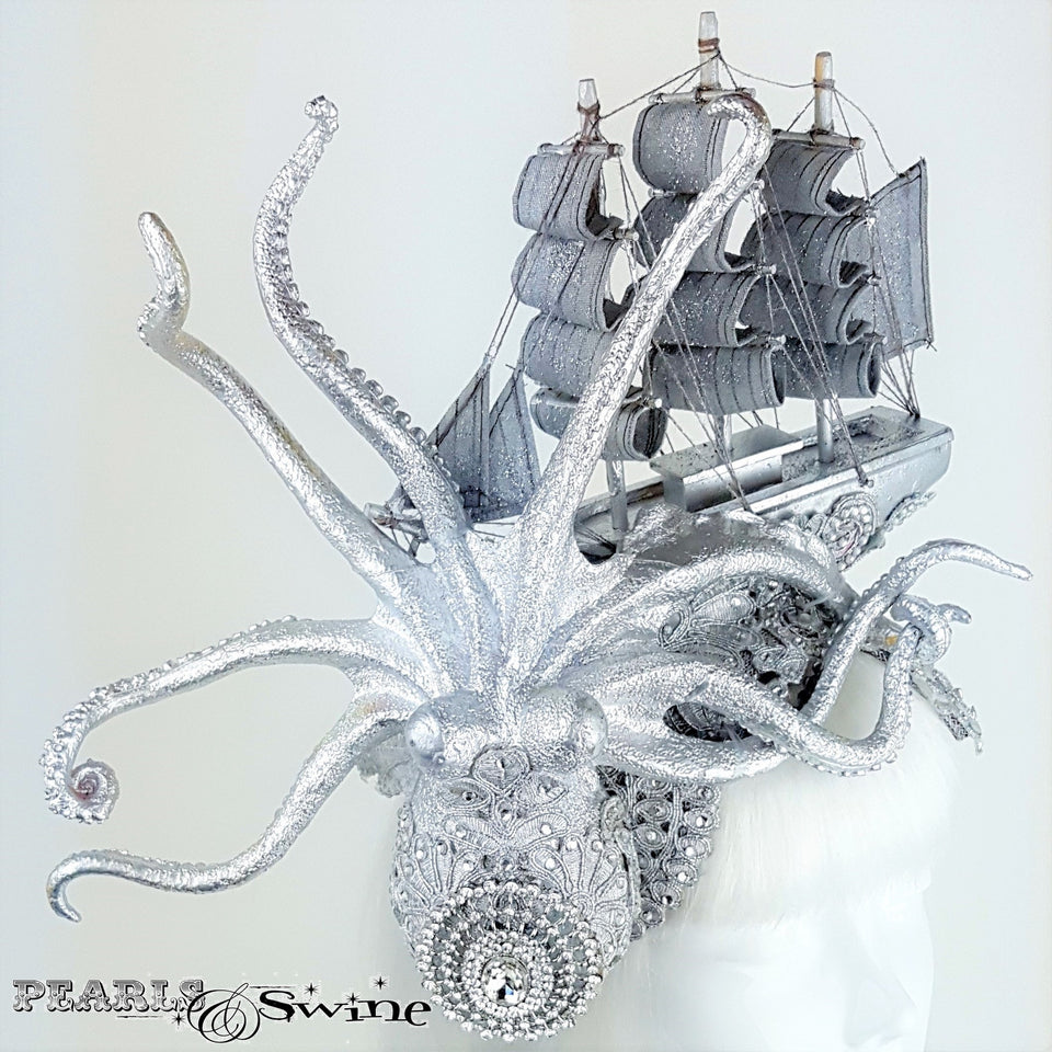 Jewel encrusted Kraken hat