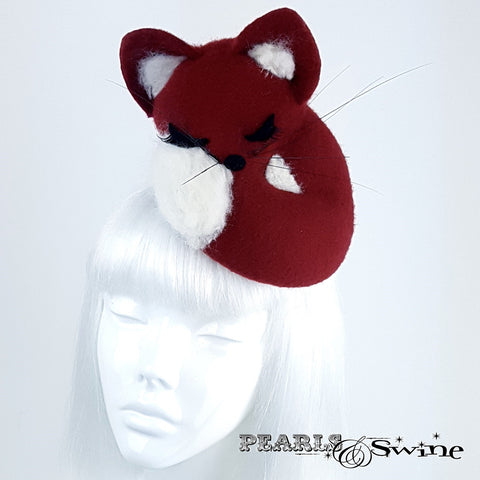 Fox Hand-Blocked hat