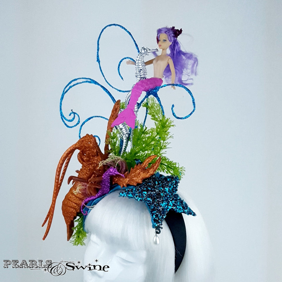 Whimsical under the sea hat