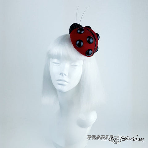 Realistic Red Ladybird Hat