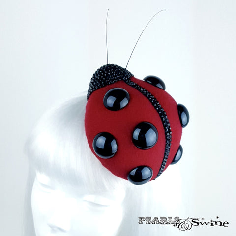 Unique Red Ladybird Hat