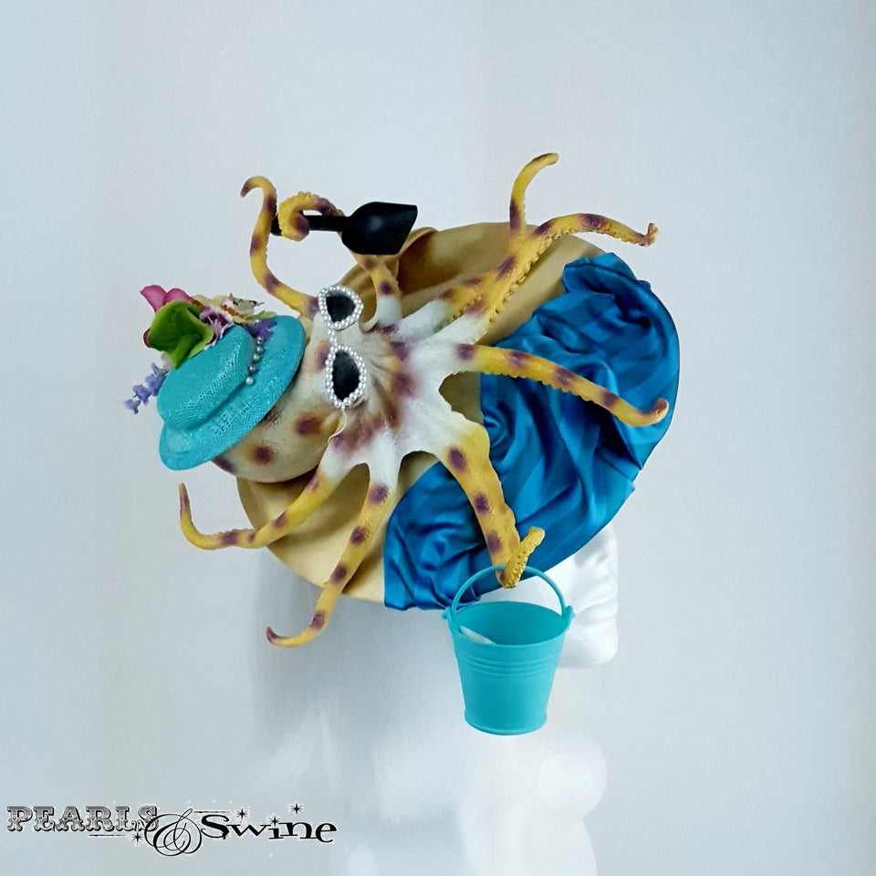 Quirky Octopus Beach Hat