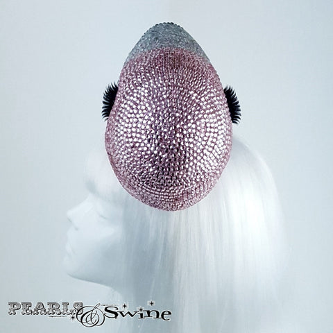 "Surreal Pink Crystal Flamingo Hat ""Chica"""