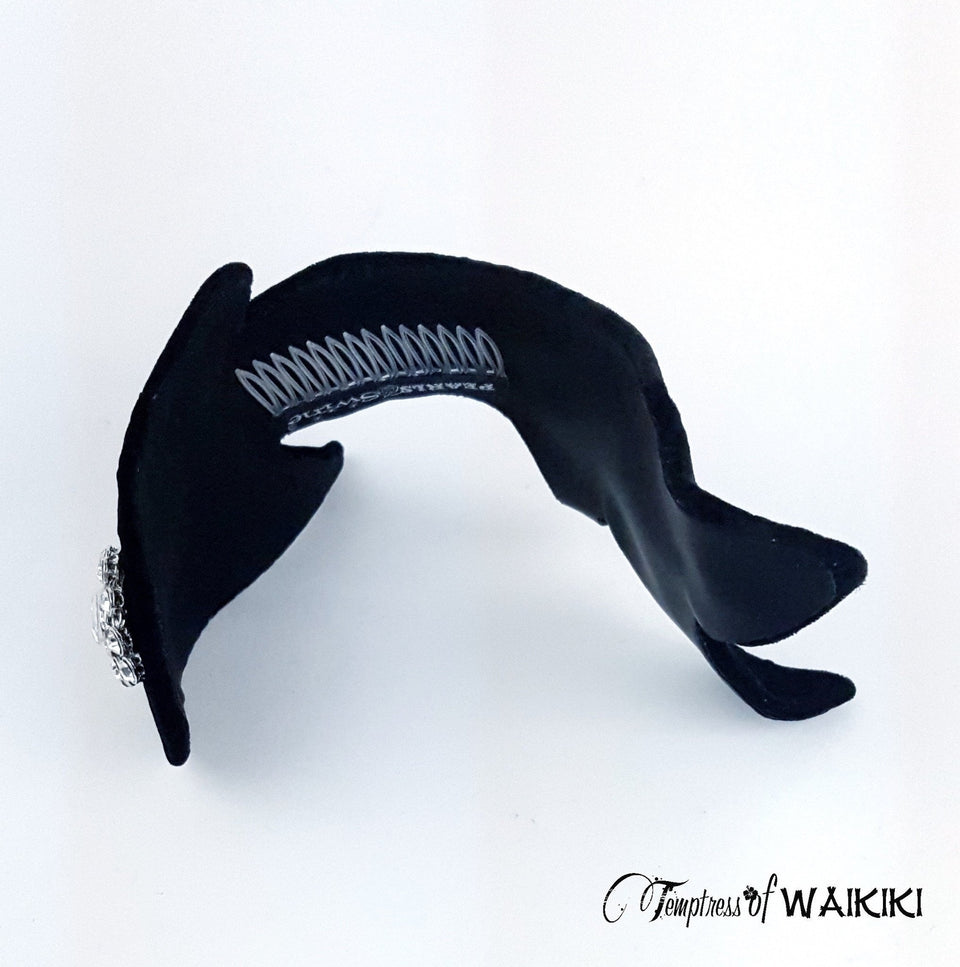 Chic Black guitar headpiece