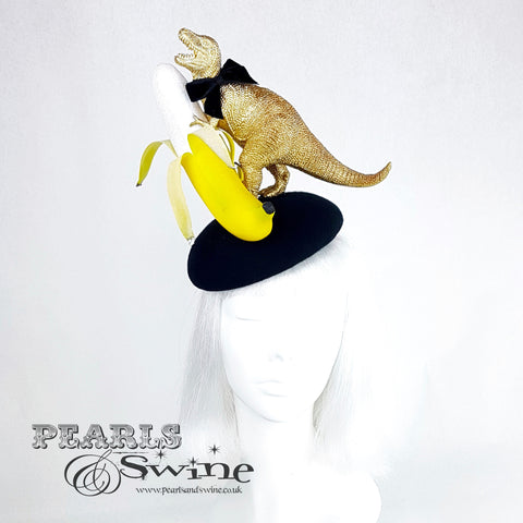 golden dinosaur hat