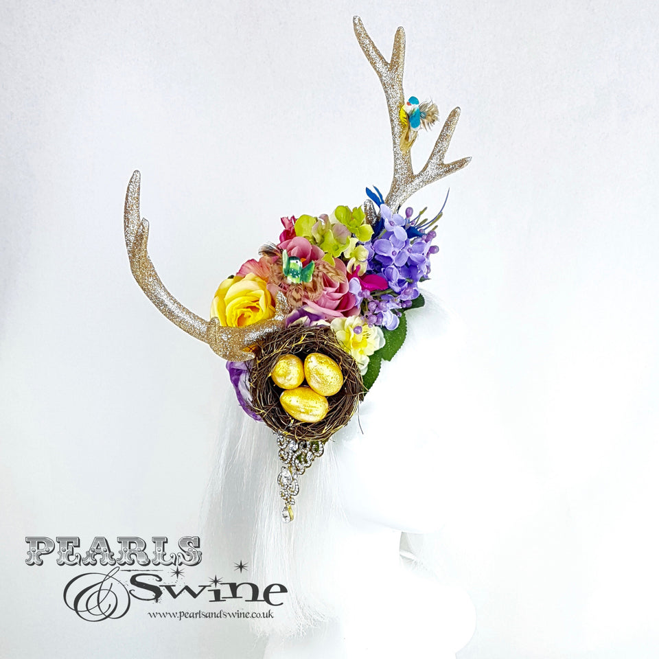 quirky flower fascinator