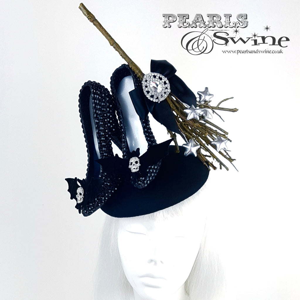 black bat headpiece
