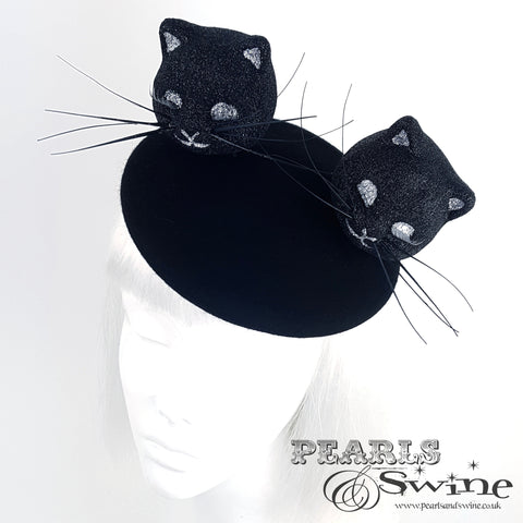 black cat hat