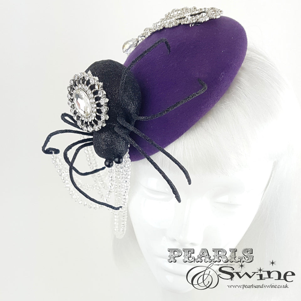 unique fascinator hat