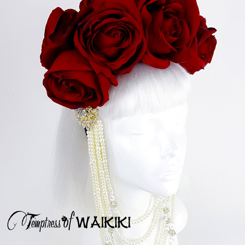 rose headdress