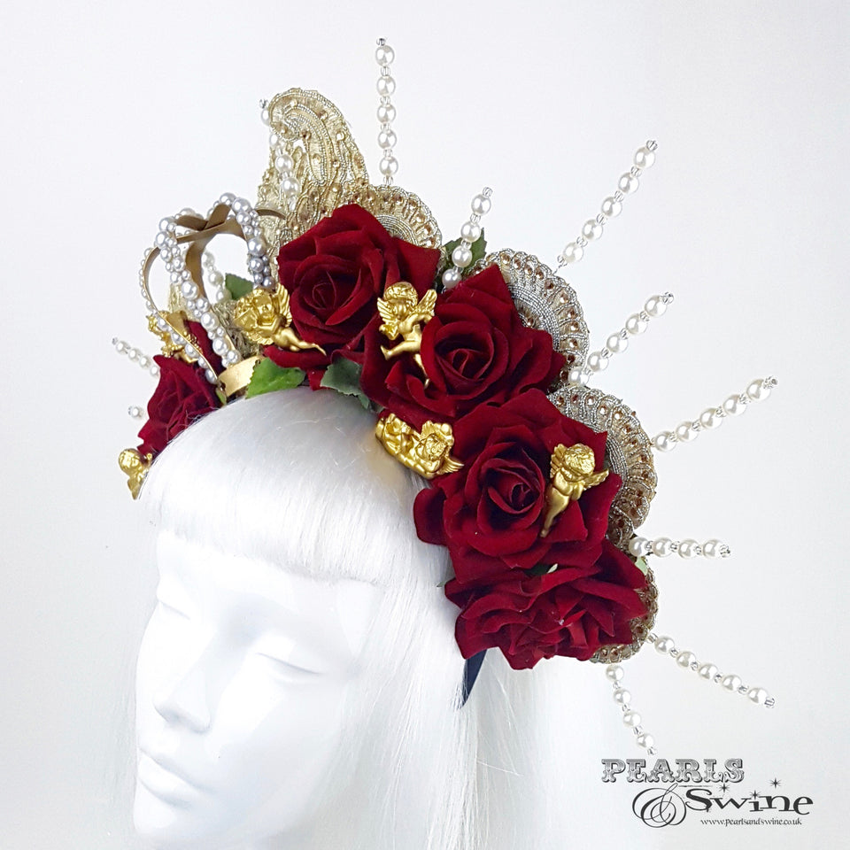 Ascot hat wedding quirky