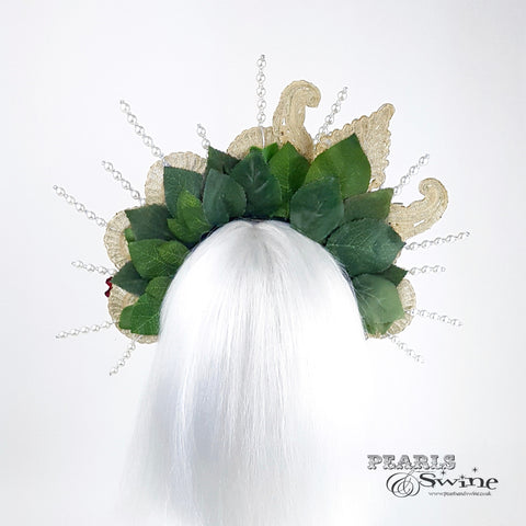 pearl crown halo