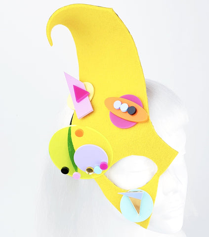 """Atomic"" 80s Inspired Half Mask"