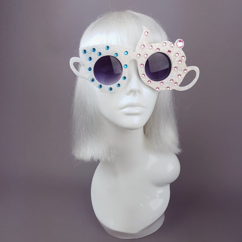 """The Mad Hatters Tea Party"" Teapot & Teacup Sunglasses"