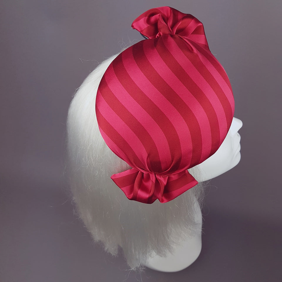 """Candy"" Quirky Red sweetie Food Hat"