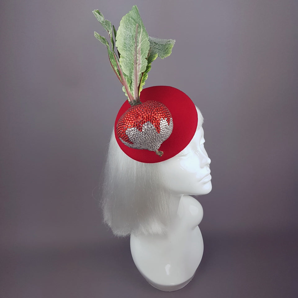 """Radishing"" Crystal Radish Hat"