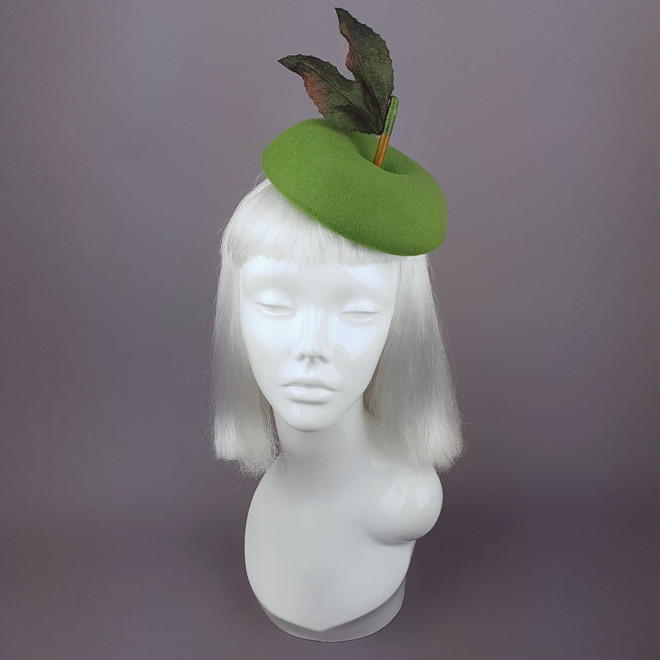 """Eden"" Green Apple Fruit Hat"