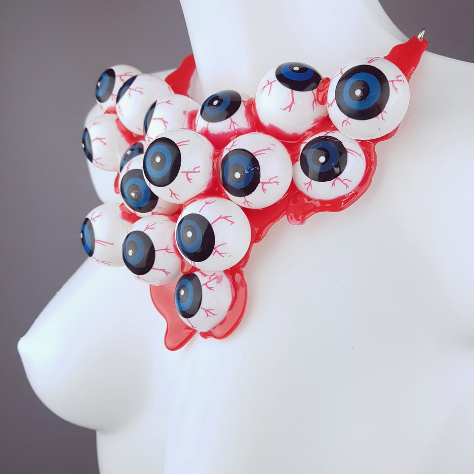 """Eye See You"" Eyeball Neckpiece"