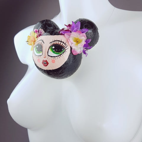 """Lulu"" Doll Face Necklace"