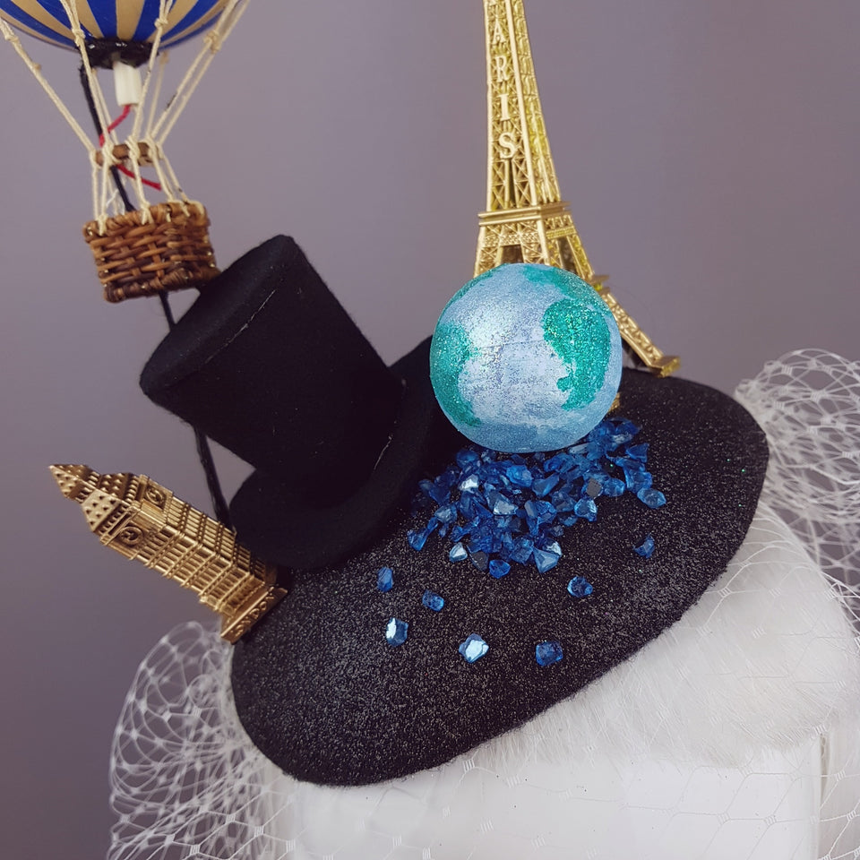 """Phileas Fogg"" 80 Days Around The World Hat"